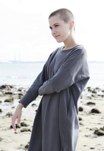 Dress Minimal Grey 4