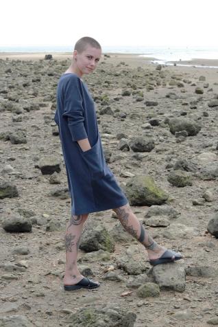 Dress Pockets Blue 3