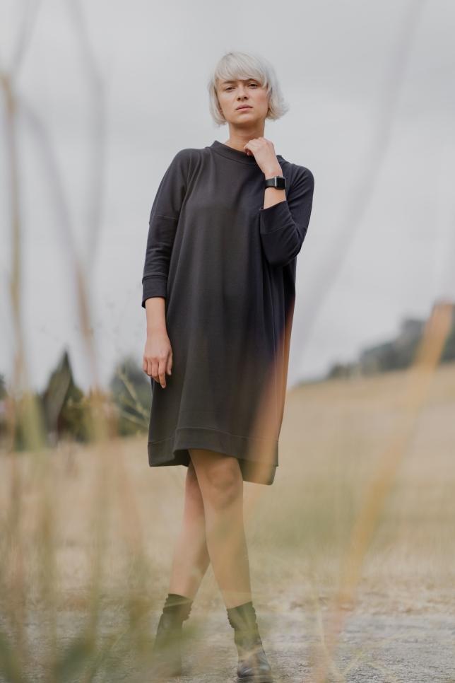 Dress Square Grey