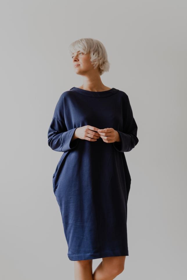 Dress Minimal Blue