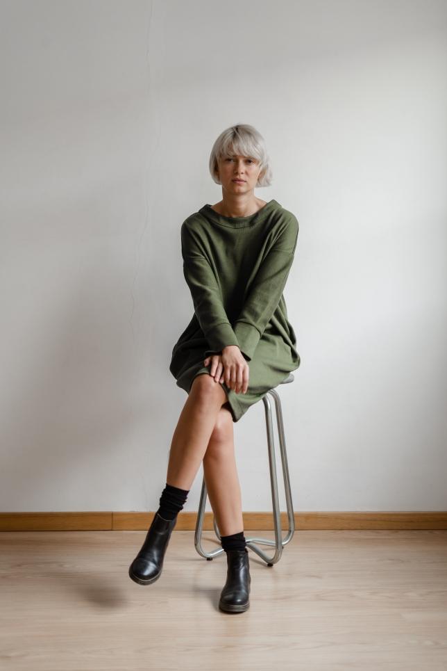 Dress Minimal Green